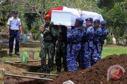 Pemakaman pilot kecelakaan pesawat latih