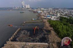 Pembersihan sampah hutan mangrove