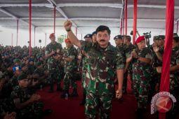 Panglima usulkan kenaikan kesejahteraan prajurit 57 persen
