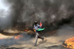 Pesawat tempur Israel hantam fasilitas Hamas di Gaza