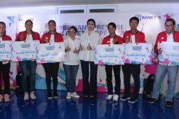 Apresiasi BRI Life kepada Tim Tenis Fed Cup Indonesia 2018 melalui perlindungan jiwa senilai Rp. 500 juta