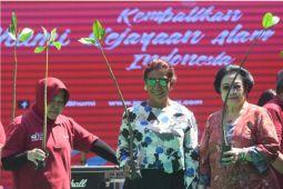 Megawati dan Puti puji Risma kelola lingkungan Surabaya