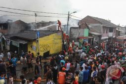 Kebakaran permukiman penduduk Jakarta
