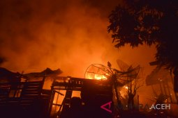 Bilik pesantren di Aceh Selatan terbakar
