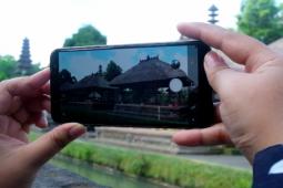 Mencoba kamera Samsung Galaxy A6