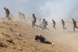 109 pemrotes Palestina cedera akibat tembakan Israel di jalur Gaza