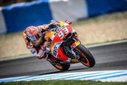 Marquez juara MotoGP Belanda, tinggalkan Suzuki dan Yamaha