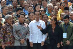 Presiden menerima nelayan