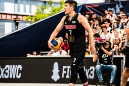 Putra Indonesia telan dua kekalahan di hari pertama Piala Dunia Basket 3x3