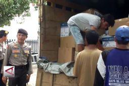 KPU Jember mulai distribbusikan logistik Pilkada
