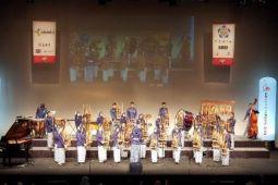 Konser angklung SMA 3 Bandung pukau Tokyo