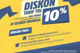 Mudik Lebaran 2018, Jasa Marga berikan diskon tarif tol sebesar 10 persen
