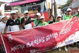 Tekan jumlah pemotor, Jasindo pulangkan 1.100 menggunakan bus
