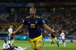 Jerman kalah 0-1 dari Swedia di babak pertama