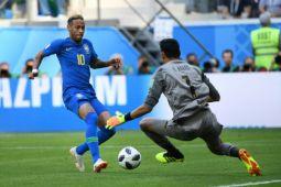 Neymar sering dijegal lawan, tim dokter Brasil protes
