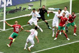 Gol tunggal Ronaldo bawa Portugal menang 1-0 atas Maroko