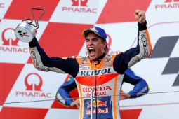 Marquez ungguli Dovizioso untuk start terdepan di grand prix Austria