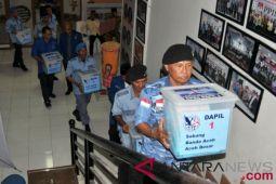 Pendaftaran balon anggota DPR Aceh