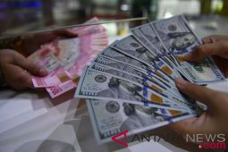 Dolar melemah, rupiah pun menguat jadi Rp14.850