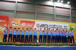 Tim China juarai kejuaraan junior Asia 2018