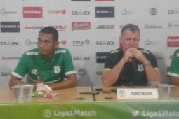 PSMS  optimistis kalahkan Bali United