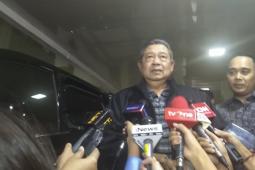 Susilo Bambang Yudhoyono pulang dari RSPAD