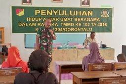 Tim Mabes TNI Kunjungi Lokasi TMMD Boalemo