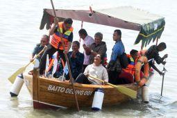 Kapal Bambu Laminasi Baito Deling