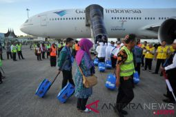 Kloter pertama embarkasi Padang