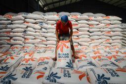 Stok beras Bulog Cirebon cukup untuk setahun