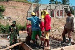 Satgas TMMD Tingkatkan Solidaritas Bersama Warga Desa