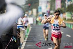 Atlet Hendro raih emas jalan cepat 20km