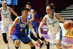 Basket Puteri - Chinese Taipei vs Kazakhstan