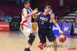 Basket Putri - Chinese Taipei vs Unified Korea