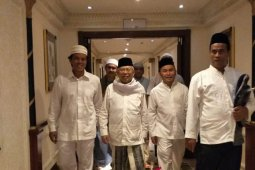 Gubernur Kalteng bertemu KH Ma'ruf Amin di Mekkah