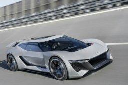 Audi perkenalkan mobil listrik konsep, PB18 e-tron