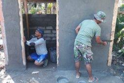 Satgas TMMD Dirikan MCK Untuk Rumah Warga
