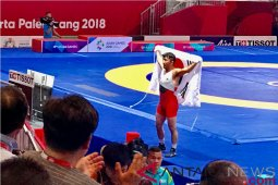 Ryu Hansu rayakan emas pertama Korea Selatan bersama suporter
