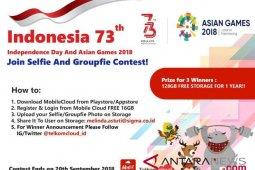Sambut HUT RI dan Asian Games 2018, Telkomsigma luncurkan kontes selfie