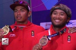 2 medali, voli pantai putra ukir sejarah baru