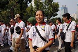 Para sukarelawan bersemangat sukseskan Asian Para Games