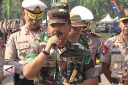 Proaktif TNI Polri untuk Pemilu damai