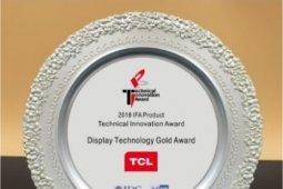 TCL raih Display Technology Gold Award pada IFA 2018