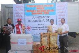 Ajinomoto gelontorkan bantuan senilai Rp.100 juta untuk korban gempa Lombok
