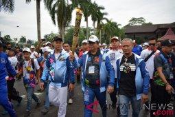 Arminsyah bawa obor Asian Para Games 2018