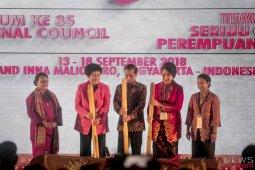 Presiden Joko Widodo Membuka Sidang Umum ICW Ke-35