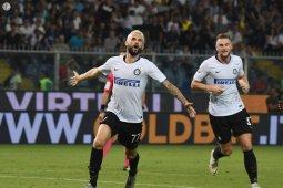 Inter raih kemenangan dramatis di markas Sampdoria