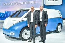 VW kenalkan Buzz Cargo, van listrik canggih untuk bisnis