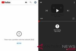 Youtube sempat alami gangguan pagi ini