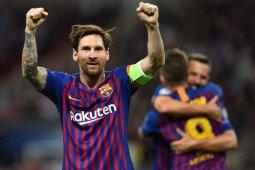 Messi dua gol, Barcelona berjaya di Wembley